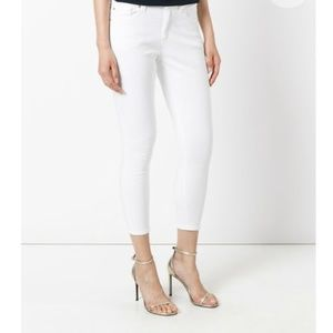 MICHAEL Kors | White Cropped Ankle Jeans